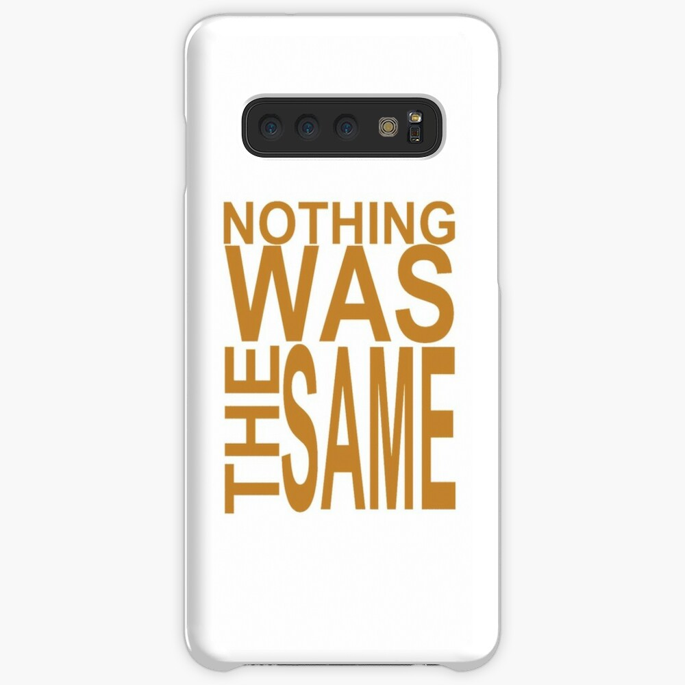 Nothing Was The Same II Cases & Skins for Samsung Galaxy
