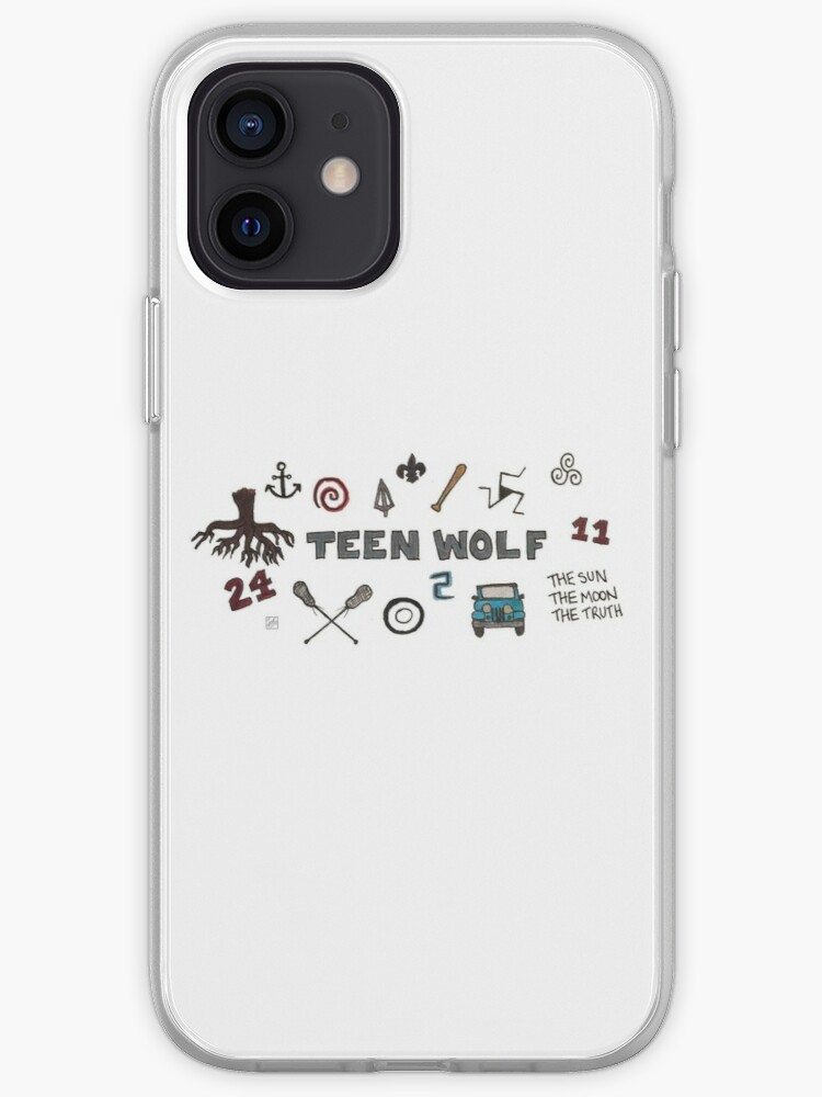 Teen Wolf icons   iPhone Case & Cover