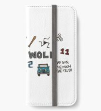 Teen Wolf icons iPhone Wallet/Case/Skin