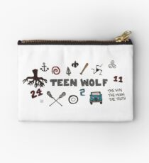 Teen Wolf icons Studio Pouch