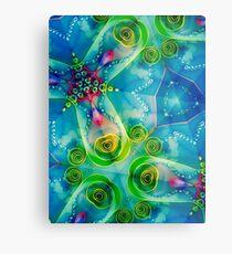 Jellyfish Heaven I Metal Print