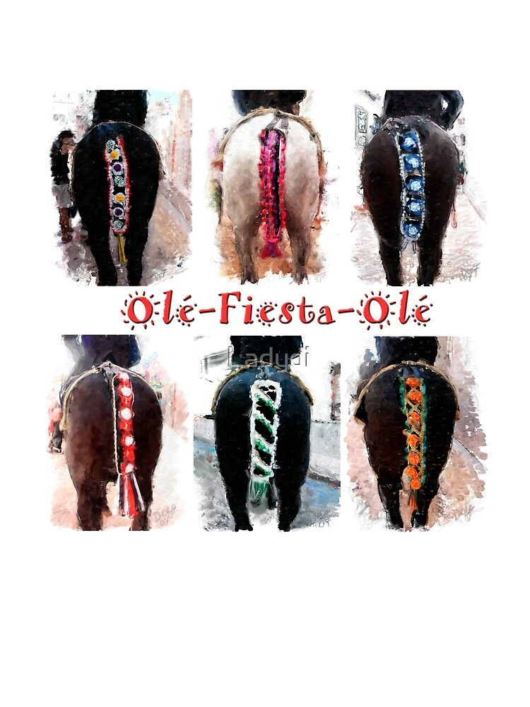 Fiesta Horsetails-Olé by Ladydi