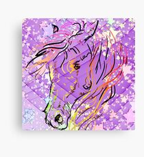 Pastel Filly Canvas Print