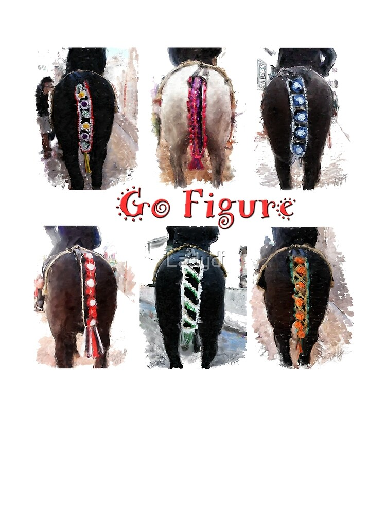 Horse Tails-Go Figure by Ladydi