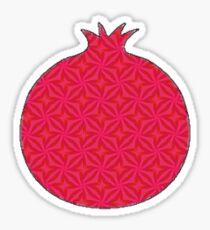 Patterned Pomagranate Sticker