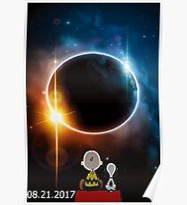 Vintage Solar Eclipse united states 2017 t-shirt Poster