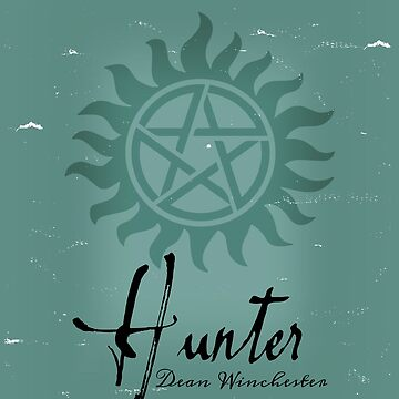 Hunter Dean Winchester by hellhoundpit