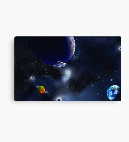 New Frontiers - To Boldly Go............... Canvas Print