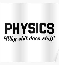 Physics Does Stuff Poster