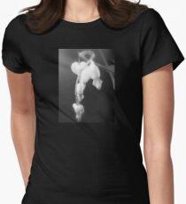 white bleeding hearts, black and white #2 T-Shirt