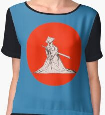 Carrying Sword Revisited Women's Chiffon Top