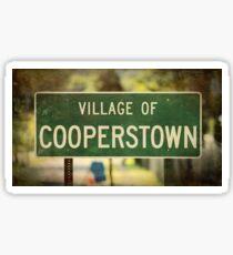 Village of Cooperstown Sticker