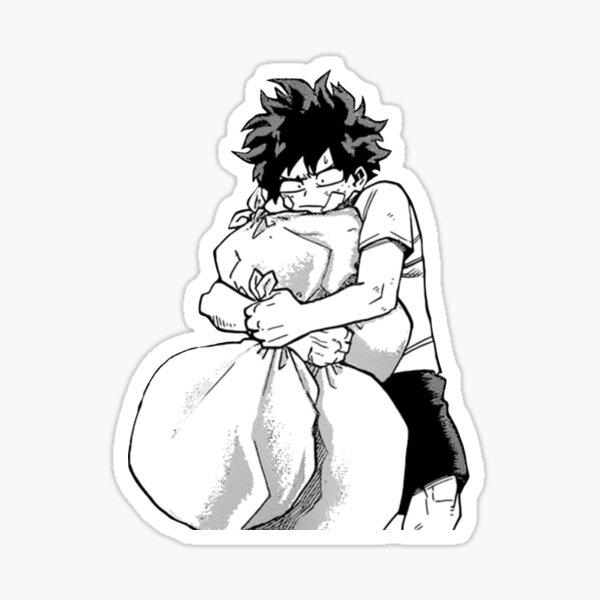 good deku Sticker