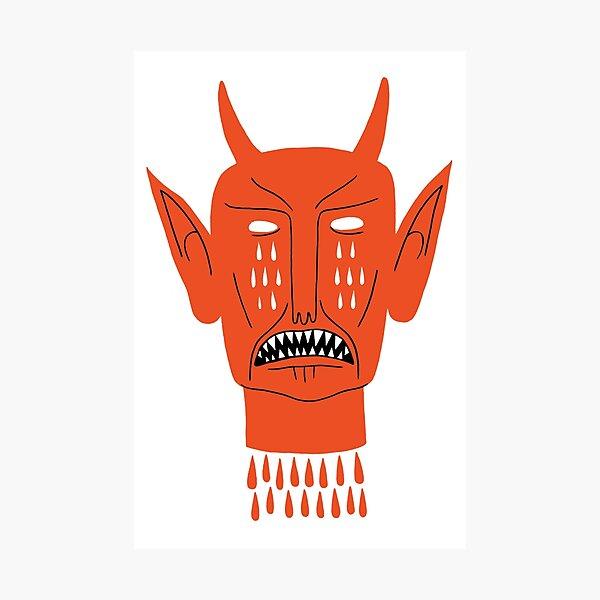 Devil's Head Photographic Print