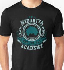 Midoriya Academy. Unisex T-Shirt