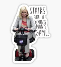 Leslie Knope Ramp Up Pawnee Sticker