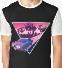 Nighdrifter retro wave car Graphic T-Shirt