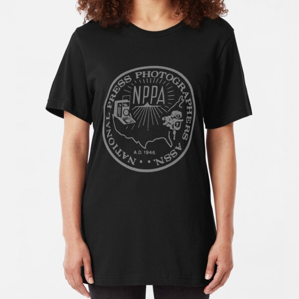 NPPA OLD SCHOOL LOGO Slim Fit T-Shirt