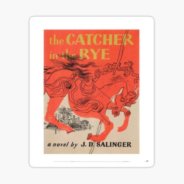 catcher and the rye Sticker