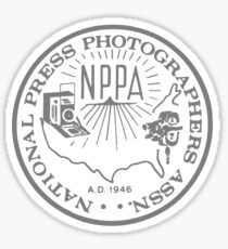 NPPA OLD SCHOOL LOGO Sticker