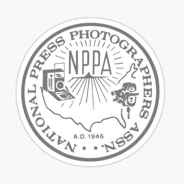 NPPA OLD SCHOOL LOGO Sticker