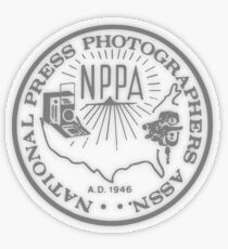 NPPA OLD SCHOOL LOGO Transparent Sticker