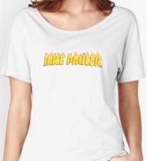 Jake Pauler Flames Team 10 Women's Relaxed Fit T-Shirt