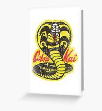Cobra Kai Greeting Card