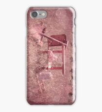 Rosy Colored Patch iPhone Case/Skin