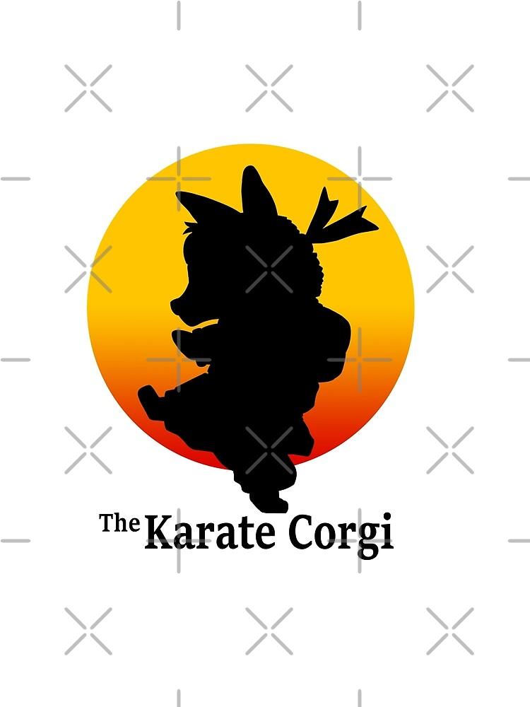 Der Karate Corgi von SPufferART