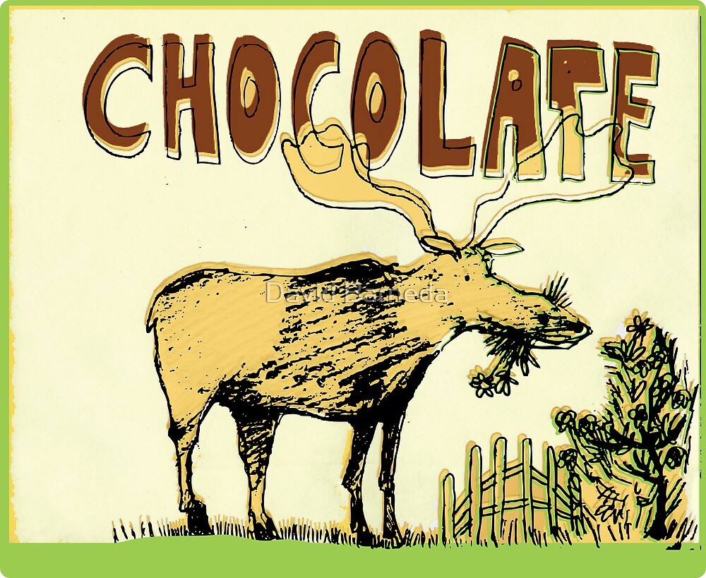 Chocolate Moose by David Barneda