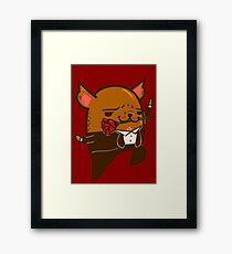 Tango Bub Framed Print