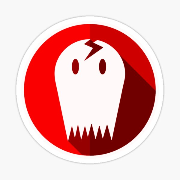 CrackedGhostGames Merch - Official Sticker