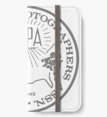 NPPA OLD SCHOOL LOGO iPhone Wallet/Case/Skin