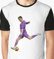 Ronaldo - Purple Graphic T-Shirt