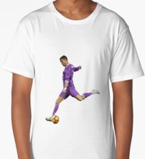 Ronaldo - Purple Long T-Shirt