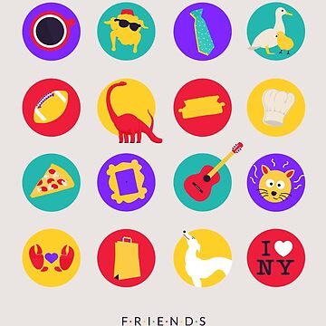 Friends | Things Poster by ImEmmaR