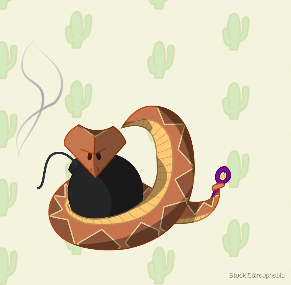 Evil Snake  by StudioColrouphobia