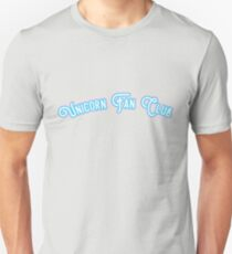Unicorn Fan Club - White & Azure Version T-Shirt