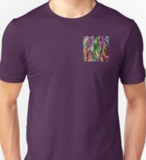 colorful floral abstract T-Shirt