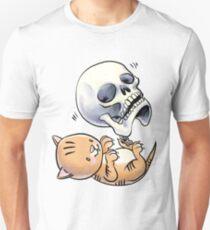 Kitten and Skull Unisex T-Shirt