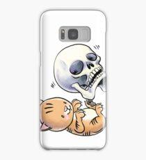 Kitten and Skull Samsung Galaxy Case/Skin