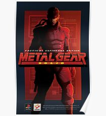 """Metal Gear Solid """"Snake"""" Poster/Print Poster"""
