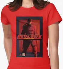 "Metal Gear Solid ""Snake"" Poster/Print T-Shirt"