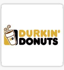 Durkin Donuts Gold Sticker