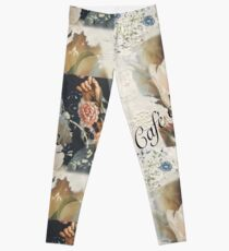 Café de Flore Leggings