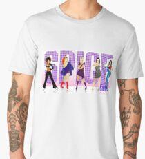 Spice Font Men's Premium T-Shirt