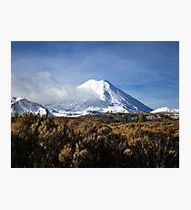 Mt Ngauruhoe Photographic Print