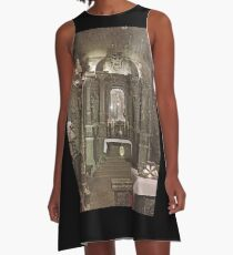 Chapel in Wieliczka Salt Mine  A-Line Dress