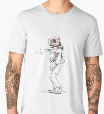 Retro Astro Zombie Men's Premium T-Shirt